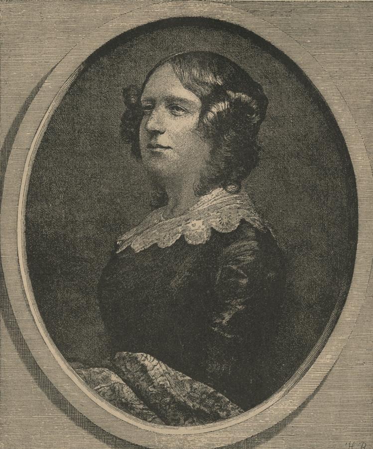 Portret Natalii Kickiej z: Tygodnik Ilustrowany. 1888, T.11 nr 279, Mazowiecka Biblioteka Cyfrowa