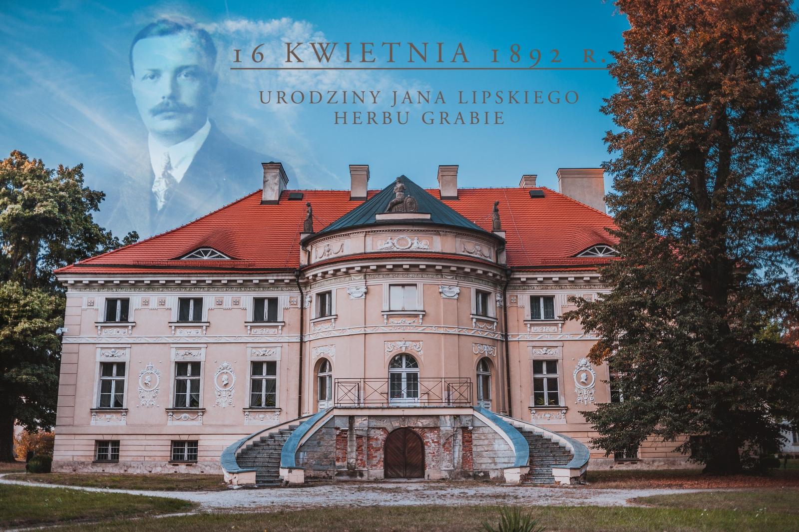 16 KWIETNIA 1892 R. - URODZINY JANA LIPSKIEGO Z LEWKOWA