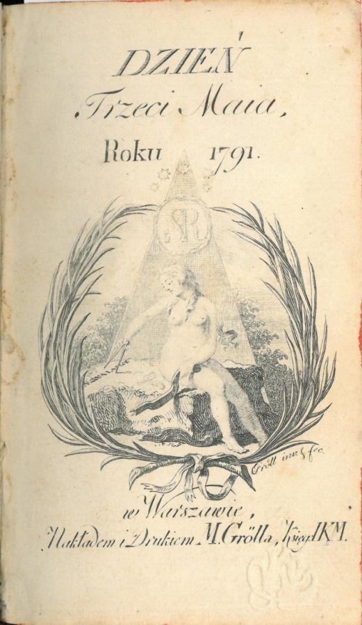 strona tytułowa diariusza Franciszka Siarczyńskiego