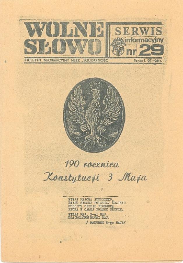 190 rocznica konstytucji 3 maja