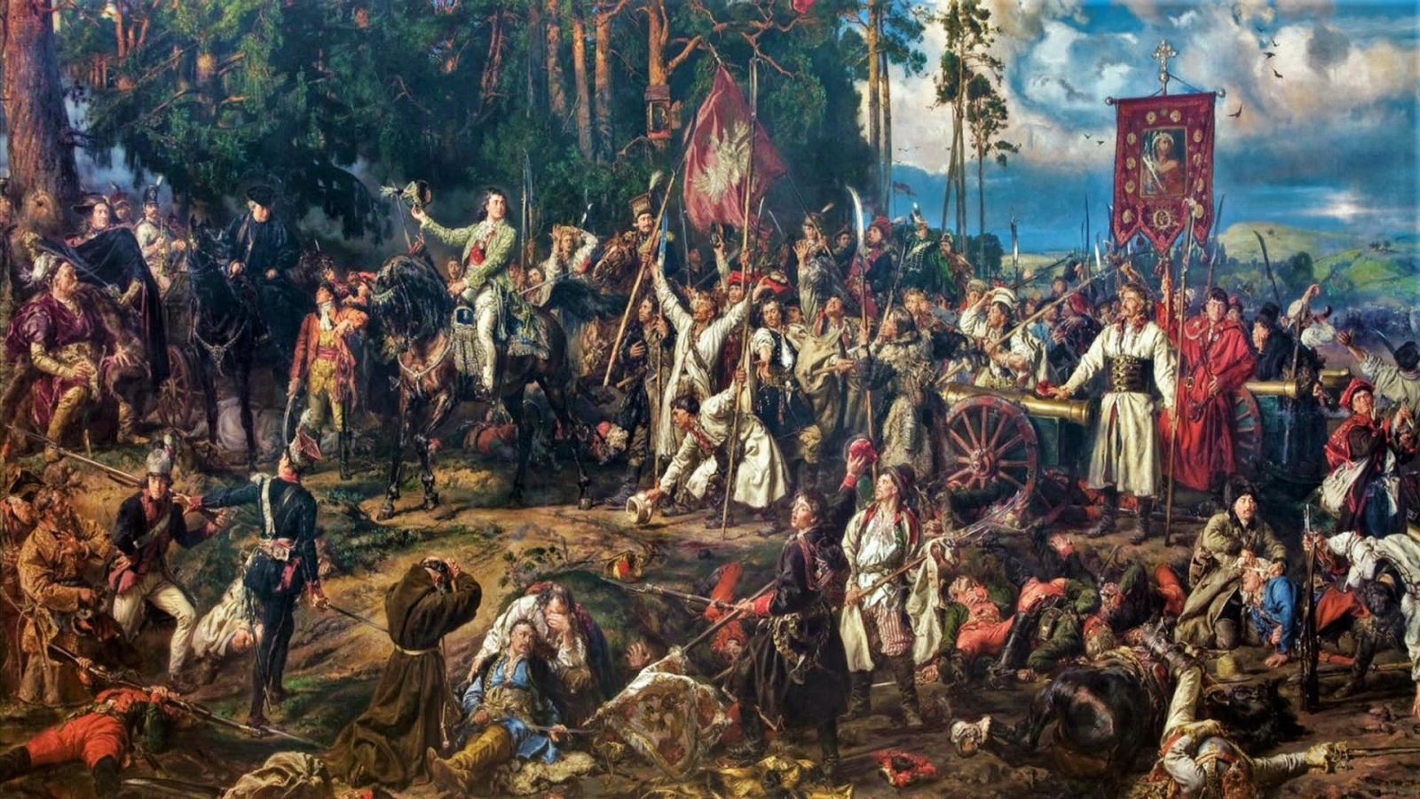 Jan Matejko- bitwa pod Racławicami