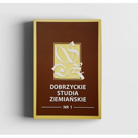 Dobrzyckie Studia Ziemiańskie nr 1