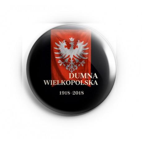 Przypinka Dumna Wielkopolska